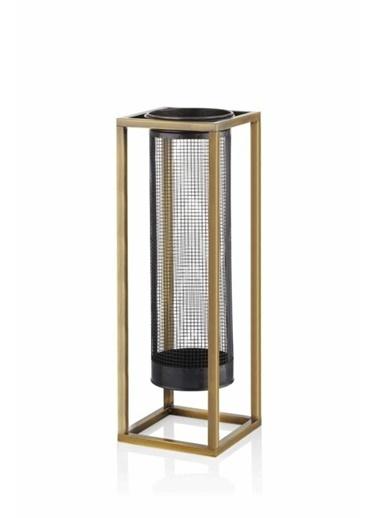 The Mia Fener 60 Cm - Siyah & Gold Siyah